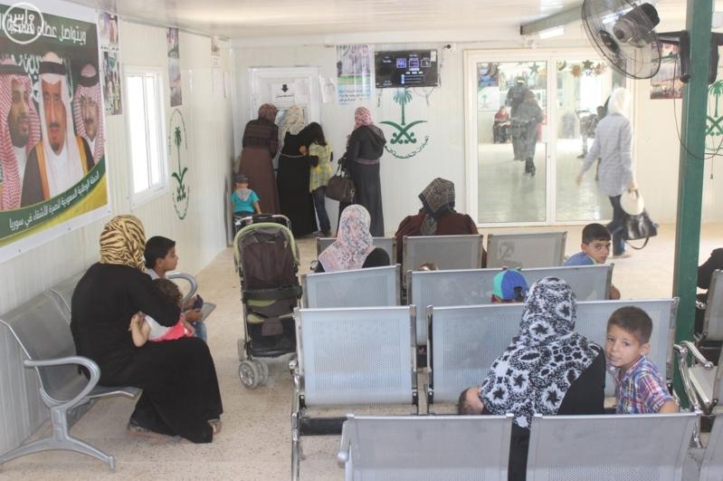 العيادات التخصصية السعودية مخيم الزعتري (3)