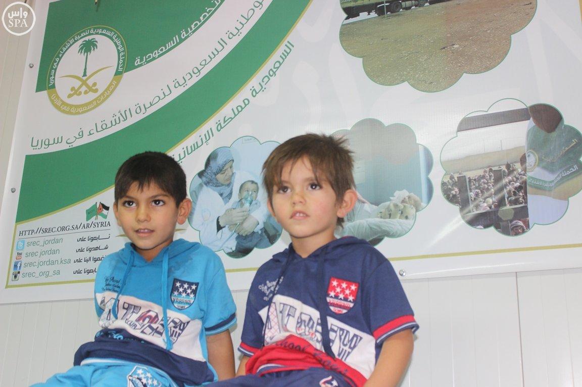 العيادات التخصصية السعودية مخيم الزعتري (4)