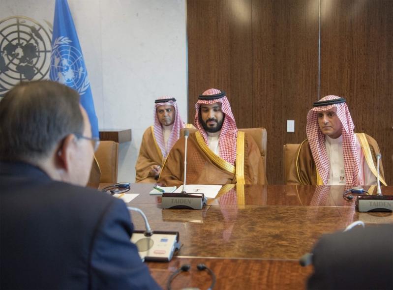 #محمد_بن_سلمان يُحَافِظ على مكانة السعودية على طاولة #الأمم_المتحدة