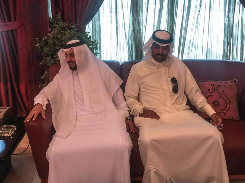 عضو شرف هجر رجل الأعمال باسم الغدير يقدم دعماً مالياً للنادي