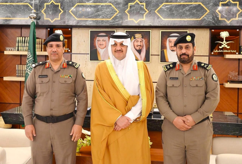 الأمير سعود بن نايف يستقبل مدير السجون بالمنطقة الشرقية 1