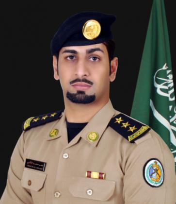 الناطق الإعلامي بقيادة حرس الحدود بالمنطقة الشرقية النقيب عمر بن محمد الأكلبي