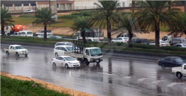 امطار احياء الرياض (2)