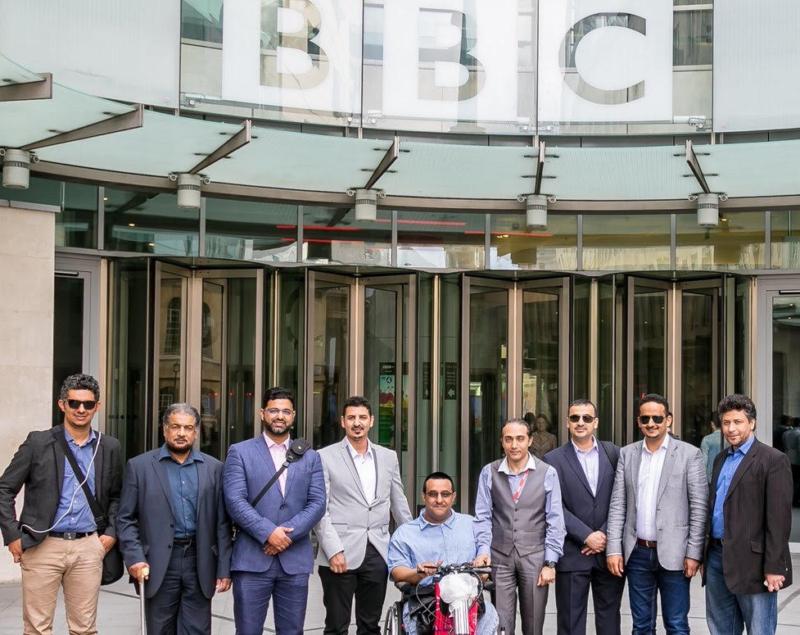 نادي الاعلاميين في بريطانيا يعلن رئاسته الجديدة للدورة الثامنة
