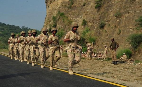 القوات البرية تستعد لانطلاق التمرين المشترك الصمصام 7