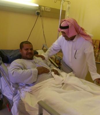 الرئيس-التنفيذي-للشركة-السعودية -سهيل-الحمد-يزور-مصاب