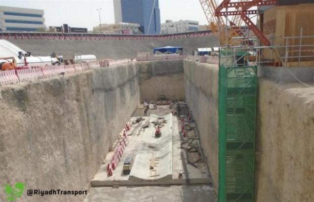 """""""قطار الرياض"""": الانتهاء من صب القواعد لانطلاق آلة الحفر الشمالي - المواطن"""