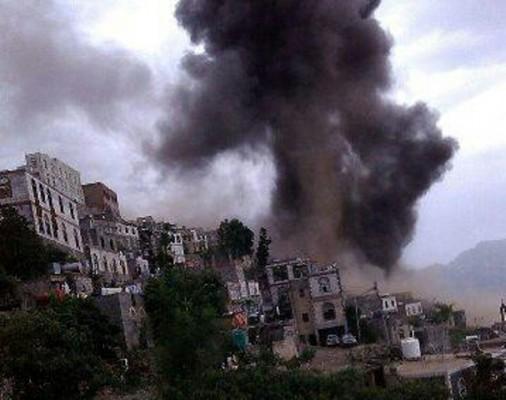 قصف-الحوثيين