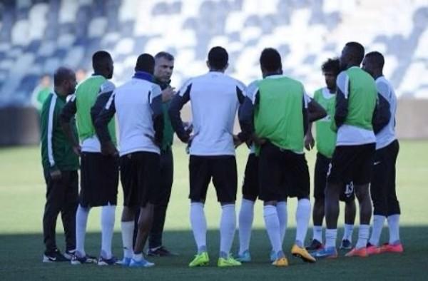 المنتخب السعودي يتدرب (1)