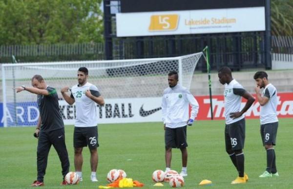 المنتخب السعودي يتدرب (3)