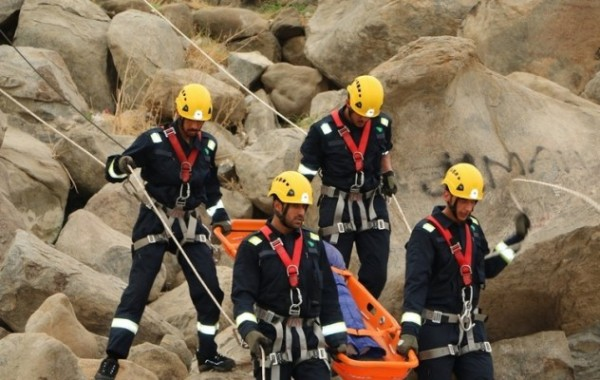 #الدفاع_المدني يستحدث فريقاً لمباشرة احتجازات الحجاج في الجبال - المواطن