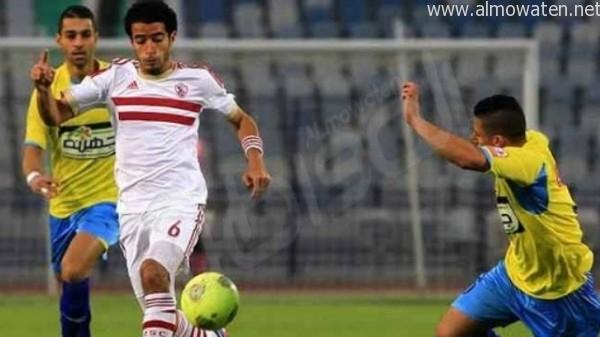 اللاعب المصري عمر جابر