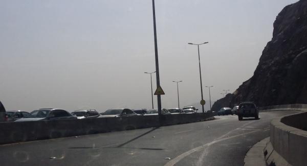 إغلاق طريق الهدا في الطائف مؤقتًا بسبب الأمطار - المواطن