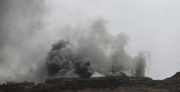 قصف-بصنعاء