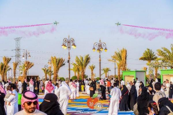 سياحة تبوك : خططنا لإنجاح مهرجان الورود والفاكهة.. والإقبال تجاوز 200 ألف زائر - المواطن