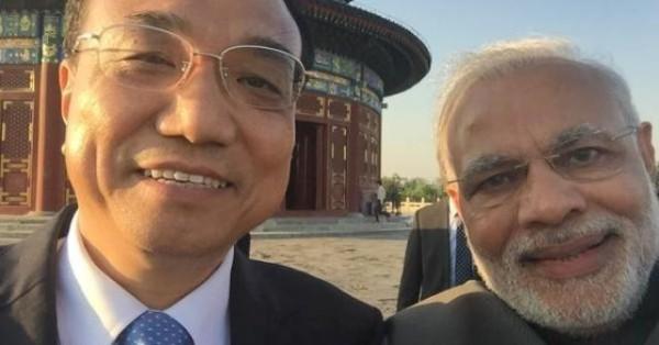 السيلفي-زعيمي-الهند-والصين
