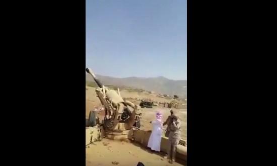 الشيخ-صالح-حميد-يشارك-بقصف-الحوثيين