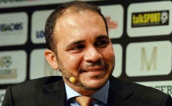 الأمير علي بن الحسين يرشح للفيفا