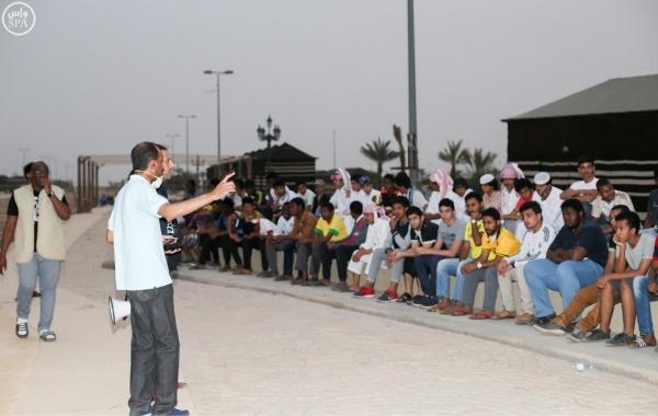 """40 لوناً شعبياً ومسرحية عن """"لَبيد العامري"""" في #سوق_عكاظ - المواطن"""