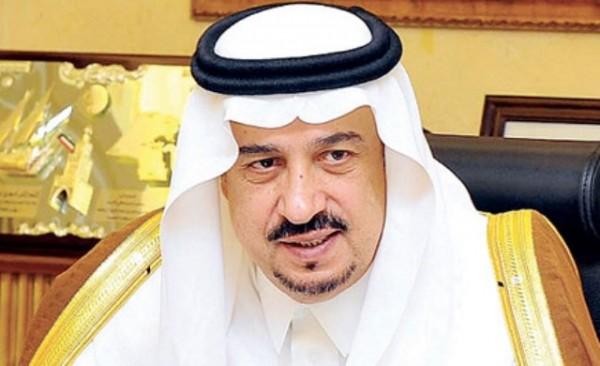 الأمير فيصل بن بندر بن عبدالعزيز أمير منطقة القصيم