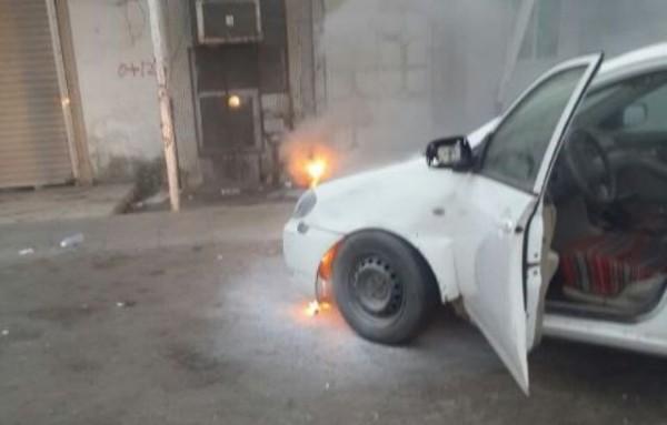 """بالصور.. التماس كهربائي يحرق مركبة مواطن في """"جازان"""" - المواطن"""