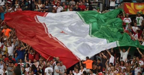 جمهور مباراة ايران وقطر