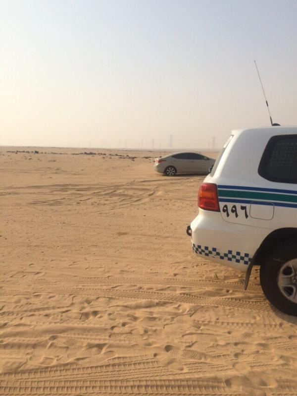 العثور على مواطن متوفى داخل سيارته بـ #الليث - المواطن