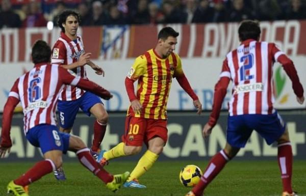 أتلتيكو مدريد و برشلونة