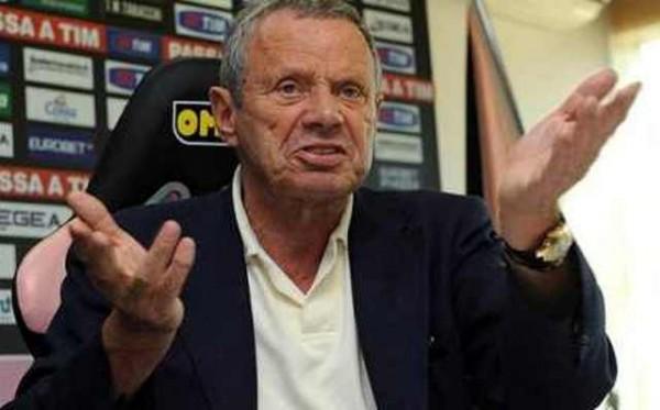 رئيس نادي باليرمو الإيطالي ماوريتسيو زامباريني
