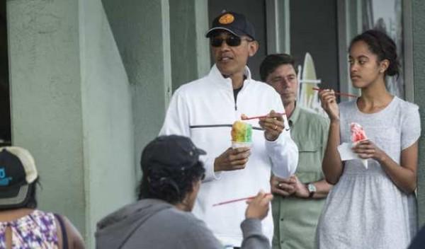 اوباما-وابنته-ماليا