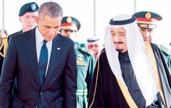اوباما والملك سلمان