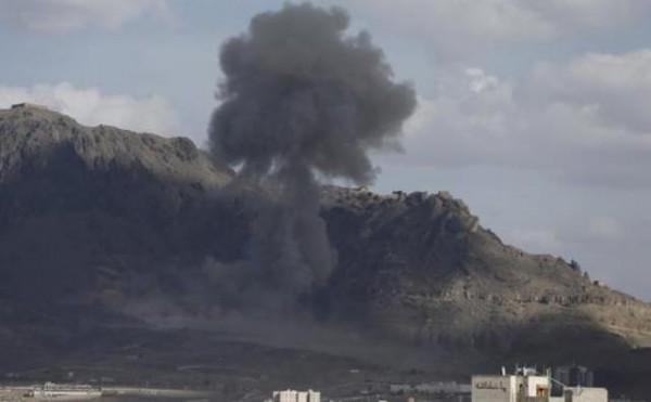 التحالف-يقذف-الحوثيين