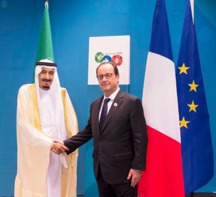 الرئيس الفرنسي لولي العهد: نعتز بحكمة الملك ودور المملكة في العالم - المواطن
