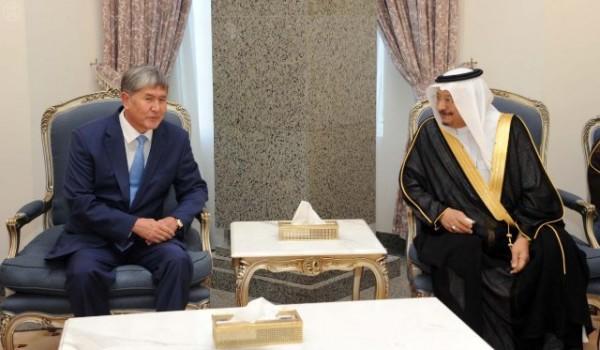 الرئيس القيرغيزستاني يغادر الرياض متوجهاً للمدينة المنورة - المواطن