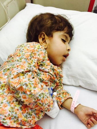 """""""تالا"""" طفلة العامين تعاني ضمور بالمخ وتحتاج لمستشفى متخصص بالخارج - المواطن"""
