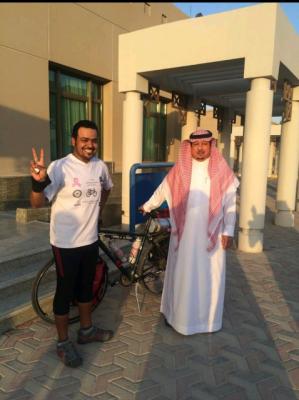 """""""رحلة أمل"""".. بدأها """"العمير في """"عمان"""" وحط رحالها بـ""""الخفجي"""" - المواطن"""