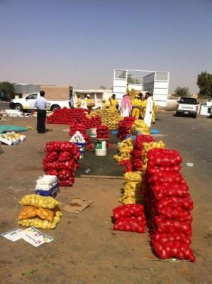 أمانة الرياض تصادر 16 مبسطاً و4 آلاف كرتون فواكه - المواطن