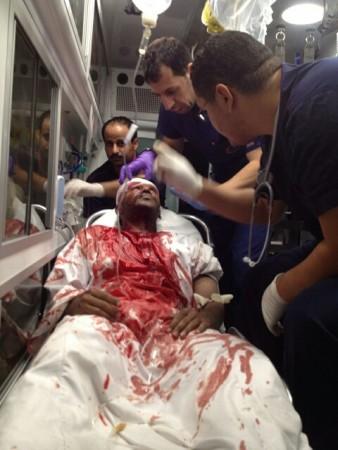 حادث يصيب شخصين بنزيف باﻷحساء - المواطن