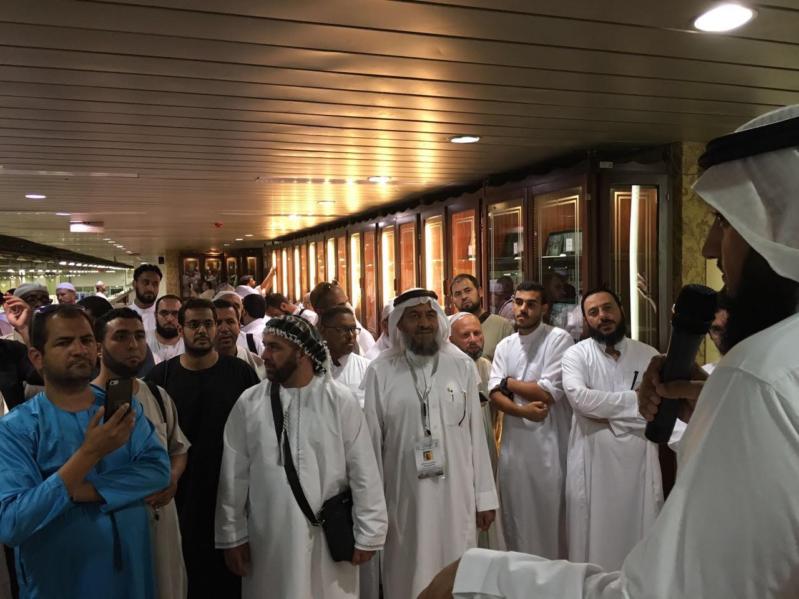 صور.. 70 حاجًا أوروبيا يزورون مجمع الملك فهد لطباعة المصحف الشريف