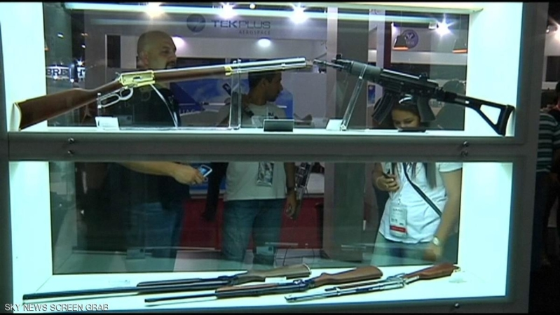 مهرب حوثي يهوي بأسهم أكبر شركة سلاح برازيلية