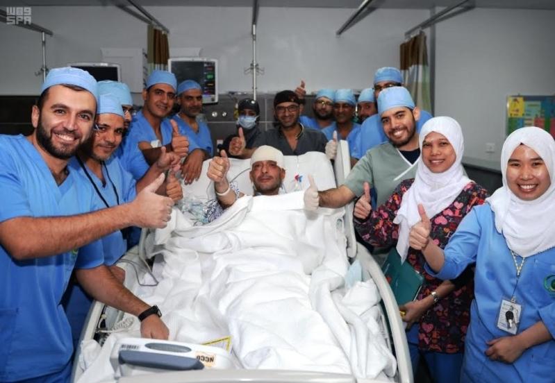 في عملية استغرقت 13 ساعة.. استئصال ورم من مخ مقيم سوري