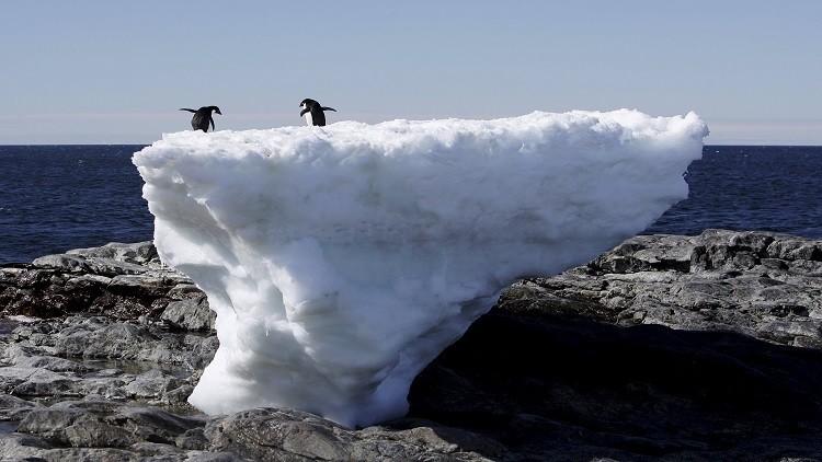 ظاهرة رائعة ومقلقة في القطب الجنوبي