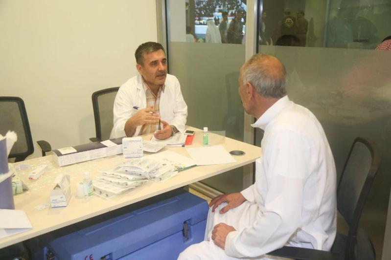 """صحة الرياض تختتم حملتها """"لاحج بلا تطعيم"""" في مهرجان حكايامسك"""