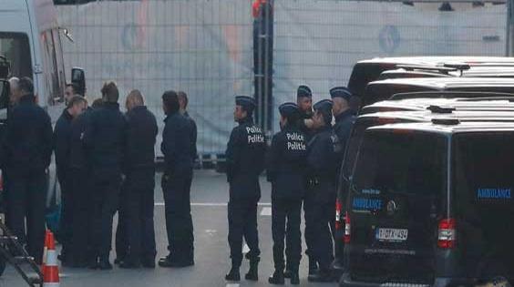 انفجار في معهد بروكسل للبحث الجنائي دون إصابات