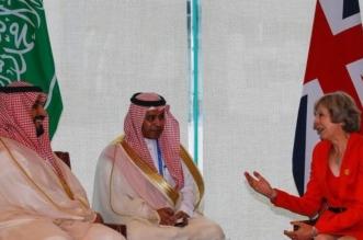 بالصور.. ولي ولي العهد يلتقي رئيسة الوزراء البريطانية على هامش قمة العشرين - المواطن
