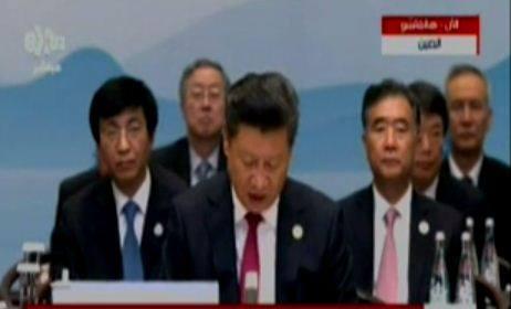 الرئيس الصيني :علينا بناء اقتصاد عالمى مفتوح وتعزيز التجارة