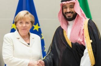 ولي ولي العهد يلتقي المستشارة الألمانية على هامش قمة العشرين - المواطن