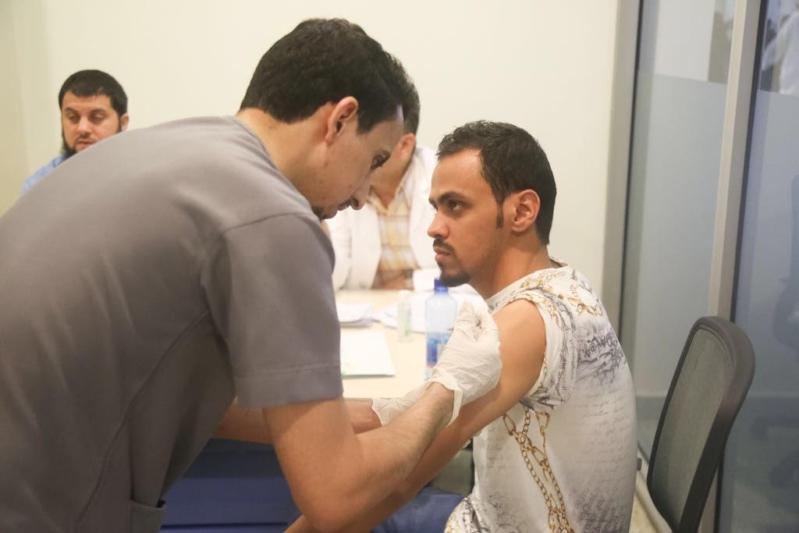 """الصحة تطلق """"لا حج بلا تطعيم"""" للقضاء على الأمراض المعدية"""
