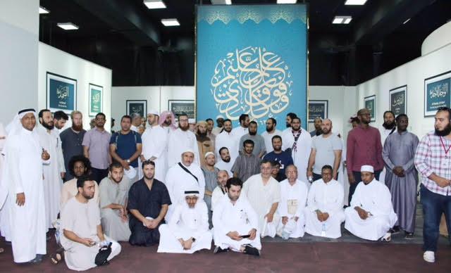 70 حاجاً أوروبياً يزورن معالم التراث الإسلامي بالمدينة المنورة