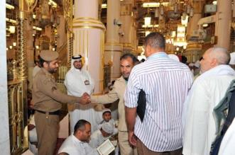 بالصور.. أمن المسجد النبوي .. جهود مباركة لراحة الزوار - المواطن